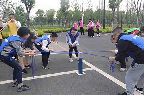 建功新时代·健步新征程——吴江海关健步走活动